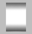 monochrome abstract halftone geometrical circle vector image vector image