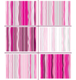 pink striped pattern vector image vector image