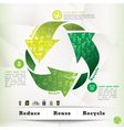 Recycle Concept Graphic Element vector image vector image