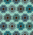 seamless pattern flowers vector image vector image