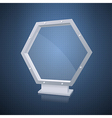 Transparency lightbox vector image vector image