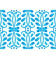 Watercolor Gzhel pattern2 vector image vector image