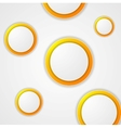 Abstract modern circles background vector image vector image