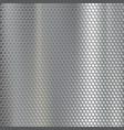 geometric metallic texture steel mesh industrial vector image vector image