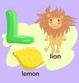 letter l in children s alphabet