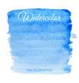 abstract watercolor blue hand drawn background vector image vector image