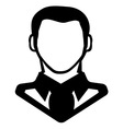 Businessman icon call centar3 vector image vector image