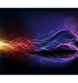 Colorful high light dynamic background vector image vector image