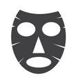 facial mask icon vector image