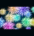 Fireworks and copy space - abstract holiday