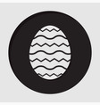 information icon - Easter egg vector image vector image