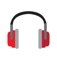 isolated fashion headphones vector image