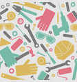 mechanic and construction seamless pattern vector image