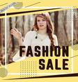 modern sale banner template vector image