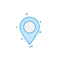 navigation icon design vector image vector image