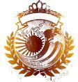 japan king wave emblem