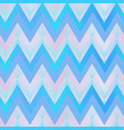 blue color zigzag seamless pattern vector image vector image