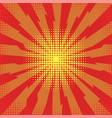 explode flash cartoon explosion space burst vector image