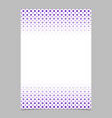 geometric halftone pattern brochure design vector image vector image