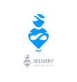 location icon delivery symbol aladdin icon genie vector image