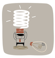 New Idea Bulb vector image vector image