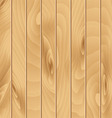 Realistic wooden background vector image vector image