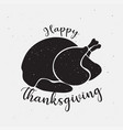 thanksgiving day icon logo vector image