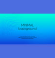 blue gradient minimal background vector image vector image