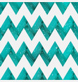 coral color zigzag seamless pattern vector image