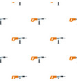 electric drill perforator pattern flat vector image vector image