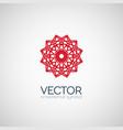 geometric symbol vector image vector image