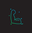 gym icon design vector image
