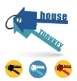 house turnkey vector image