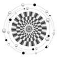 mandala motion vector image vector image
