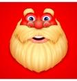 Santa Claus doing ho ho ho vector image vector image