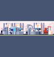 smart factory industrial supervisor vector image