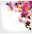 abstract vintage floral background vector image vector image