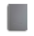 Copybook isolated vector image vector image