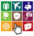 E-commerce grid vector image