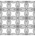 floral seamless pattern linear ornament abstract vector image vector image
