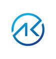 logo letter ak