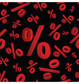 percentages 3d pattern eps10 vector image vector image