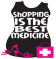 Shopping Best Medicine vector image vector image