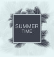 summer time lettering text vector image vector image