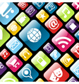 app icon background vector image