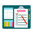 claim form blank vector image vector image