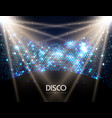 disco abstract background disco ball texture vector image vector image