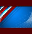 flag usa background vector image