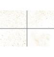 gold glitter texture set design element vector image