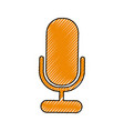 microphone sound record vector image